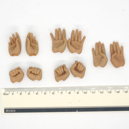 XB124-06 1//6 Scale HOT Kung Fu Ip Man Hands 5 Pairs TOYS