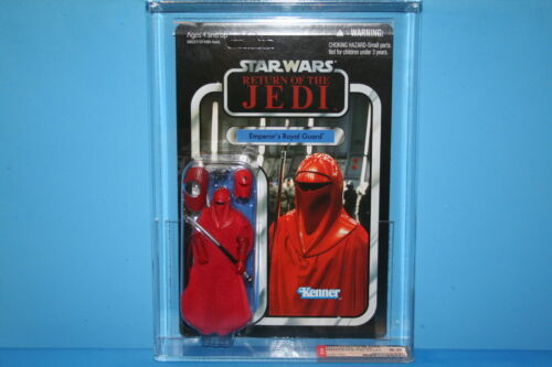 STAR WARS 12 VINTAGE COLLECTION AFA GRADED MINT ON CARD ROYAL GUARD 9.0 FIGURE