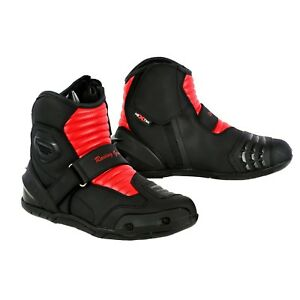 EU 39 Black 5 Profirst Global Adventure Motorbike Motorcycle Racing Armour Sports Boot Waterproof Touring Shoes for Mens