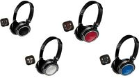 Coby Jammerz Xtra Stereo Over Ear Headphones + Earbuds With Built In Mic Cvh-800