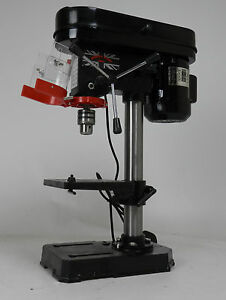 New-Heavy-Duty-350w-13mm-Rotary-Pillar-Drill-5-Speed-Press-Drilling-Bench-Press