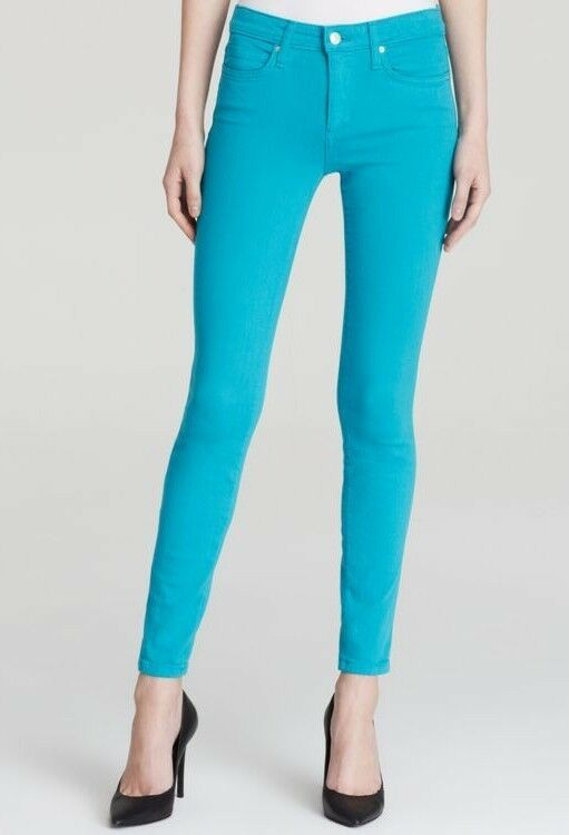 JOE'S JEANS WOMENS SCUBA blueE THE ICON ANKLE SKINNY FLAWLESS JEANS Size 25 NWT