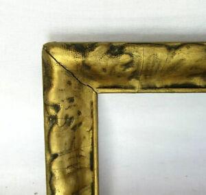 """ANTIQUE FITS 4.5"""" x 7.5"""" GOLD GILT ORNATE COUNTRY PRIMITIVE STYLE ART NOUVEAU"""