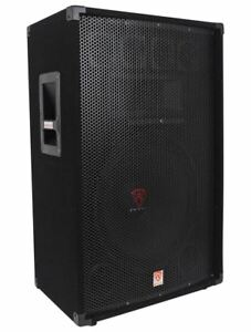Rockville-RSG15-15-3-Way-1500-Watt-8-Ohm-Passive-DJ-Pro-Audio-PA-Speaker