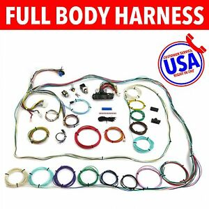 s l300 67 72 chevrolet c10 c15 rear coil truck wire harness upgrade kit 67-72 C10 Bucket Seats at bayanpartner.co