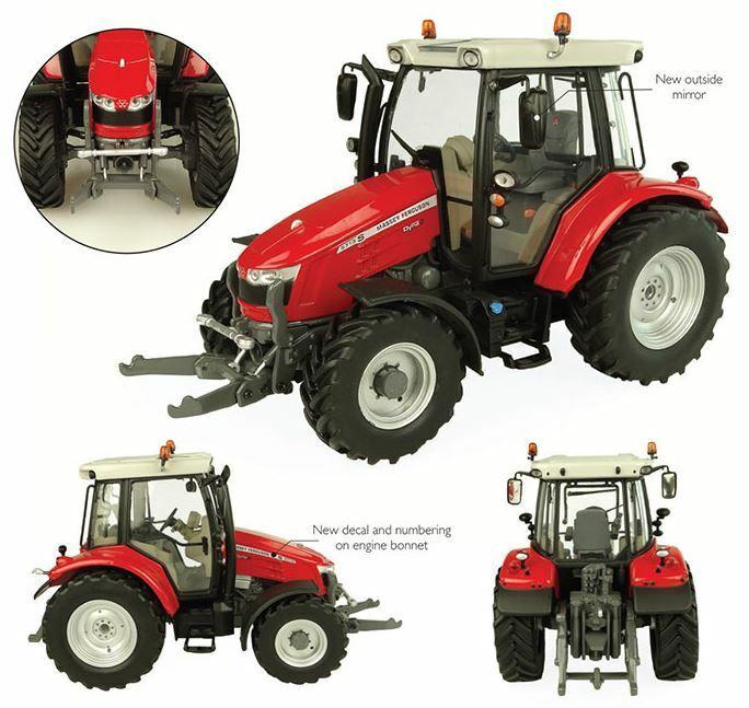 Massey Ferguson 5713 S Tractor 1 32 Model 5305 UNIVERSAL HOBBIES