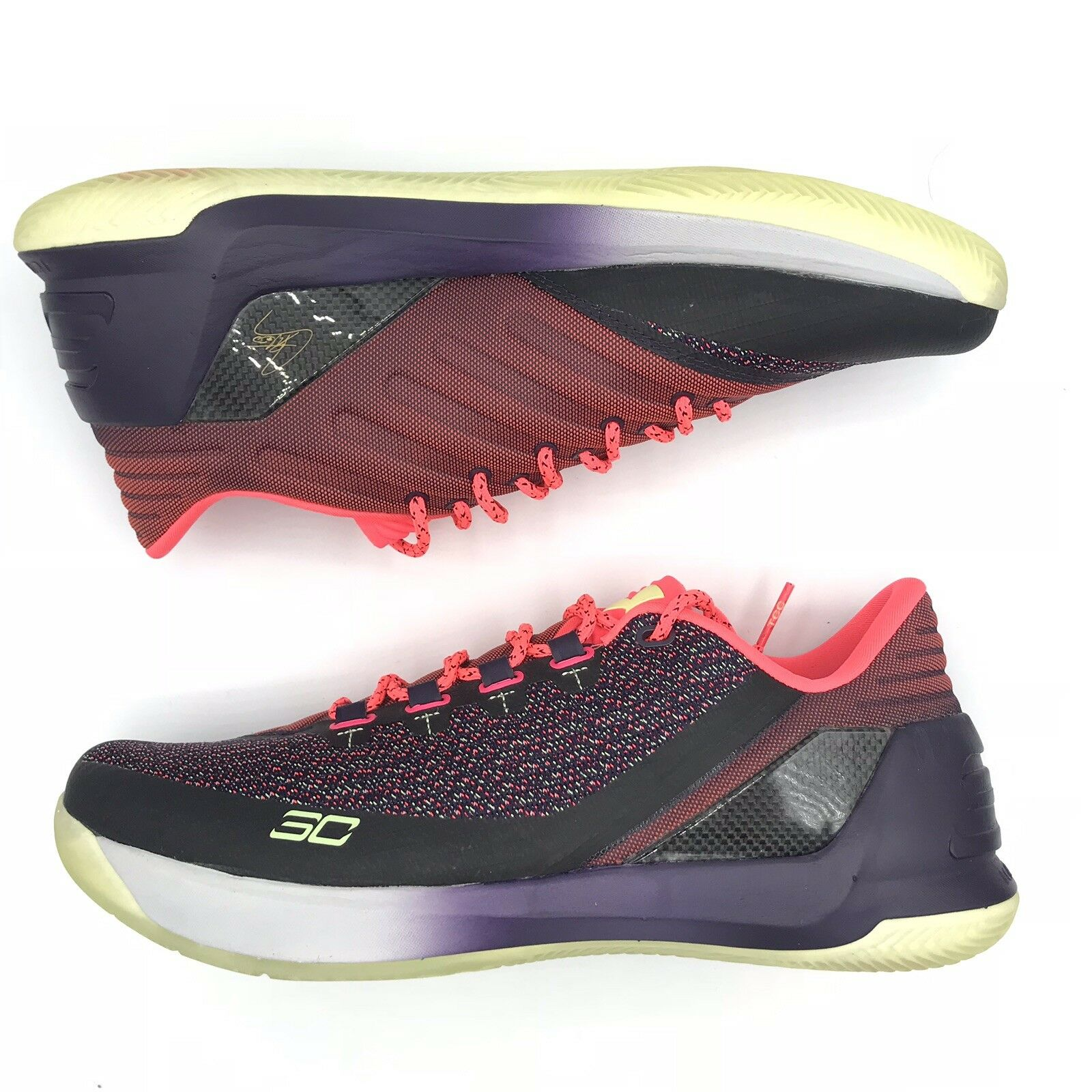 Curry 3 Low Full Circle Basketball schuhe 1286376 101 Größe 12 New  Under Armour