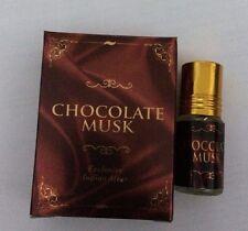 ATTAR CHOCOLATE MUSK - EXCLUSIVE INDIAN ATTAR Perfumed, Fragrance Oil 2.5 ML
