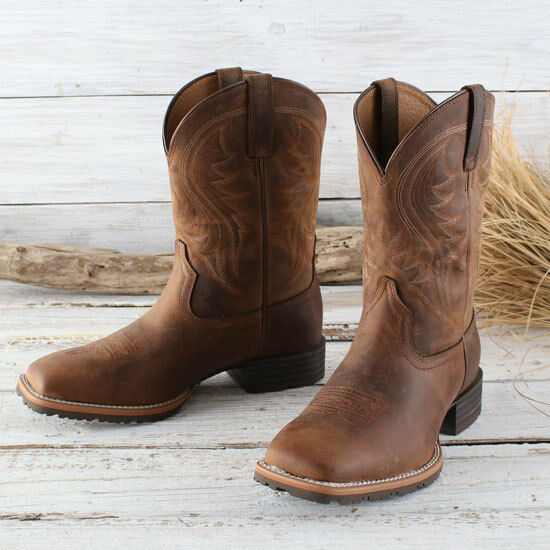 Ariat Men's Distressed Hybrid Rancher Boots