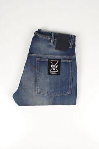 30972 G-Star Brut RE5620 Japan 3D Loose Tapered Bleu Homme Jean En Taille 33/32