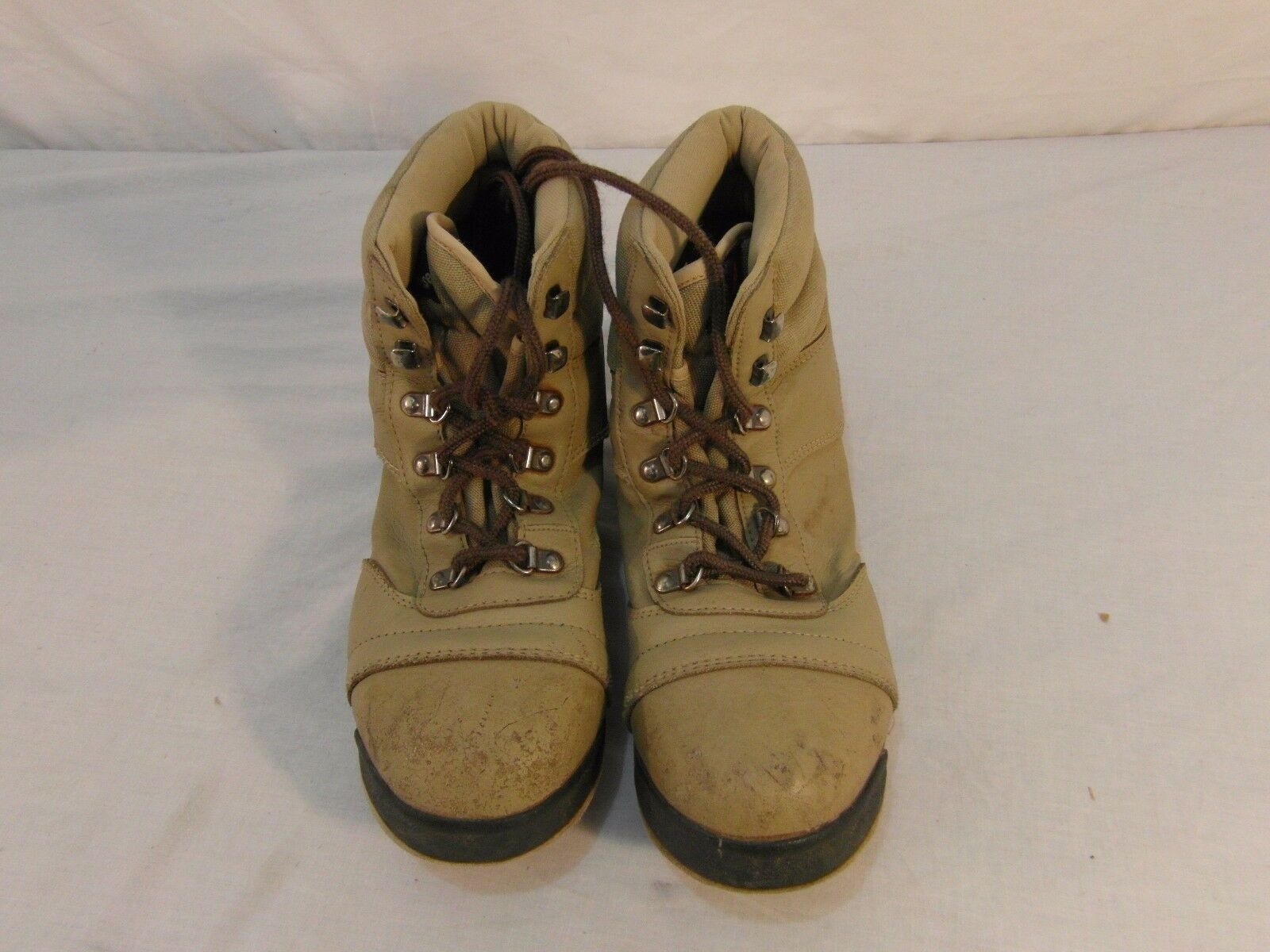Adult Unisex Lacrosse Tan Brown Lace Up Hiking Outdoors Ankle Boots Nice  31141