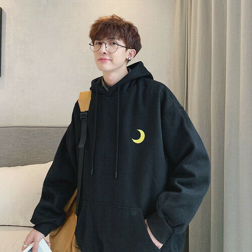 2020 Korean Men's Hoodie Fall Casual Oversized Campus Style Hot