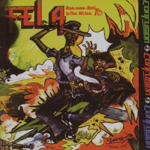 CONFUSION GENTLEMAN Fela Kuti + Africa 70 Wrasse Records CD Album 5060001270753