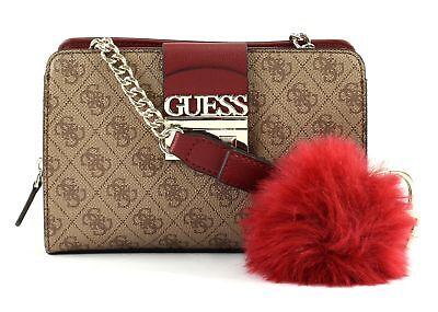 GUESS Cross Body Bag Logo Luxe Crossbody Brown  230e2fad65