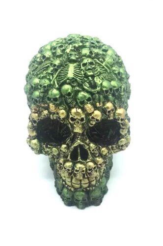 New Skull Head Gothic Figure Ornament Art Gifts Figurine Decor best  Gift 12cm