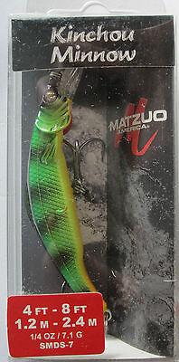 MATZUO  Nano Kinchou Minnow Natural Walleye Size 5-1//8 oz