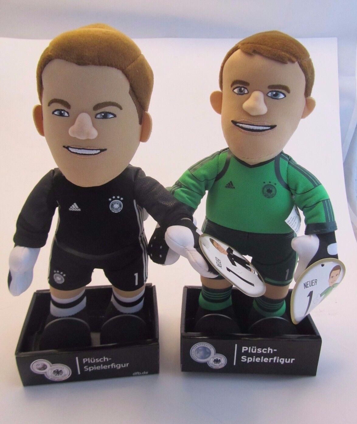 2 x Manuel Neuer  Deutsches Deutsches Deutsches National Team  ca.25 cmPlüsch-figuren  WM WC 9cb199