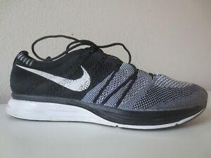 Nike Flyknit Trainer Hombre Talla 11.5 Oreo Negro Blanco ...