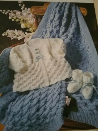 abrigo y patucos dk 675kc Baby/'s Chal