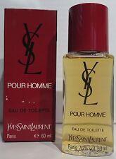 YVES SAINT LAURENT POUR HOMME 60ml EdT Eau de Toilette YSL NEU Rar