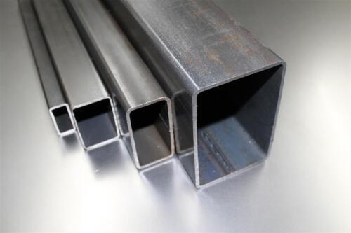 TUBO RETTANGOLO QUADRATO ACCIAIO TUBO TUBO profilo tubo di acciaio 80x30x2 di 1000-2000mm