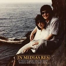 IN MEDIAS RES it was Warm and Sunny When we first set out BRAND NEW SEALED CD