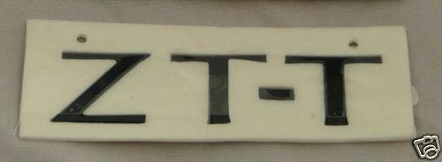 finition noire Mg zt-t badge arrière dat000140pma