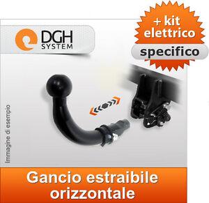 kit elettrico spec 7p Gancio di traino estraibile Peugeot 207 3//5 porte dal06