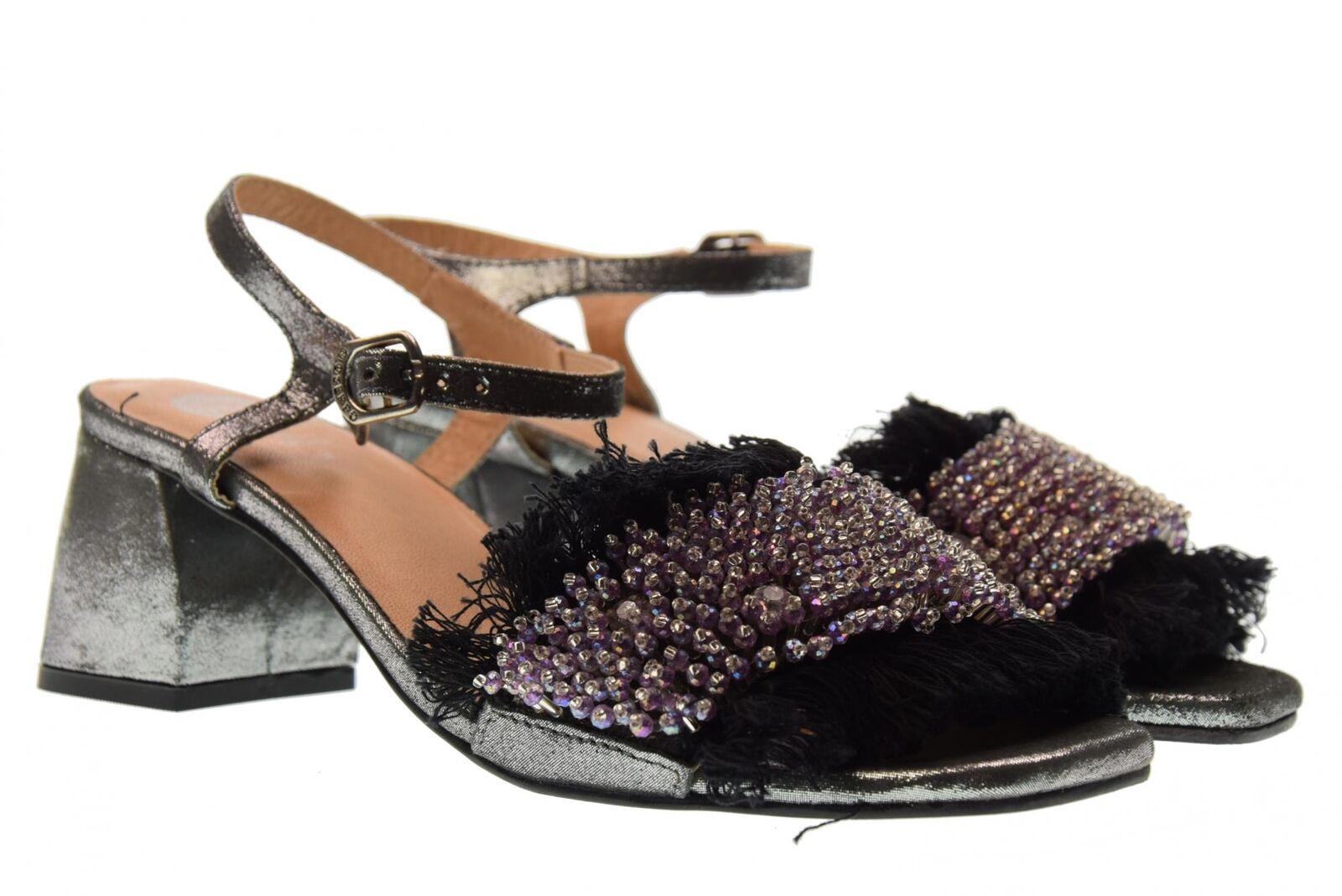 Gioseppo scarpe donna sandali tacco basso 45310 NERO P18