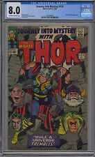 JOURNEY INTO MYSTERY #123 CGC 8.0 OFF-WHITE TO WHITE PAGES MARVEL THOR