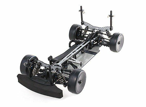 BLAZE 1 10 TOURING CAR FULL CARBON FIBER RACE CHASSIS RZ4 ASSEMBLED KIT 4WD RC