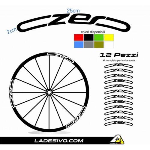 Stickers circles MTB Wheels czero Cannondale Customizable CUI Color