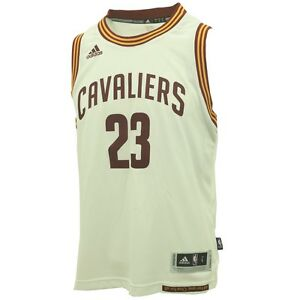 Cleveland-Cavaliers-Youth-Size-LeBron-James-Swingman-official-NBA-2-034-Jersey-New
