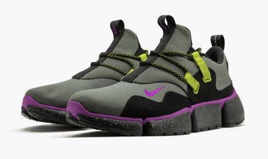 f5f73d0bbfb5 Nike Pocketknife DM SU Trail Running Shoes Ah9709-001 River Rock Mens Size  9 for sale online