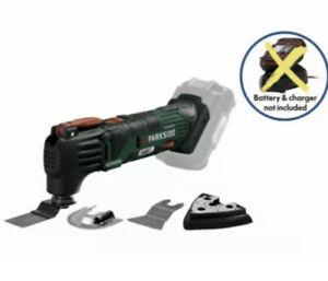 Parkside 20V Cordless Oscilating Multi Purpose Tool No Battery No Charger 2021