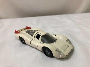 Modelo diecast escala 1/43 De Metal Solido Porsche 908 Blanco Con Rojo