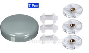 3 X Haut Base Gear + 3 X Caoutchouc Bush +1x Stay Fresh Couvercle pièces détachées 900W-600W UK-afficher le titre d`origine 3eMzOx8G-07203211-615701620