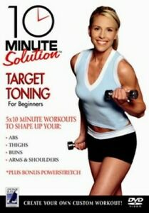 10-Minute-Solution-Target-Toning-DVD-2006-cert-E-NEW-Quality-guaranteed
