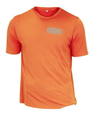 Abile Oregon Traspirante Cooldry Elasticizzato T-shirt Arancione Neon Hi Viz Manica Materiali Di Alta Qualità