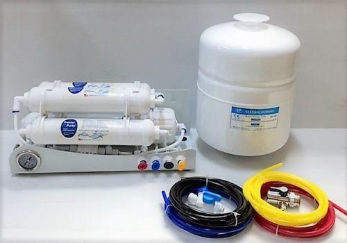 Appartement véhicules récréatifs Voyage Portable EAU OSMOSE INVERSE REVERSE système de filtration + Osmose Inverse Tank