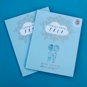 Imaginary-Fred-Oliver-Jeffers-amp-Eoin-Colfer-signed-gift-set-perfect-present