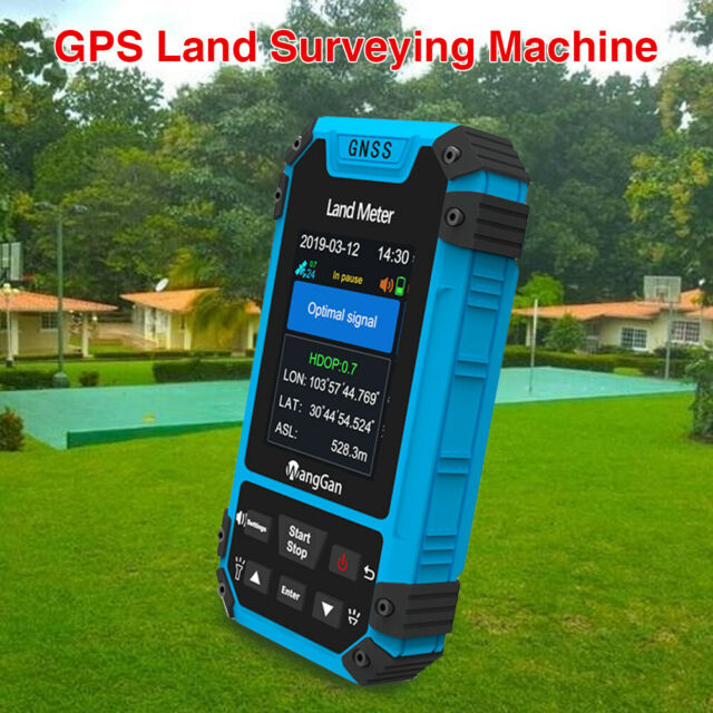GPS Land Meter Accuracy GNSS receiver Survey Equipment Distance Measurement