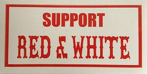 hells angels support red white aufkleber sticker original 81 sticker ebay. Black Bedroom Furniture Sets. Home Design Ideas