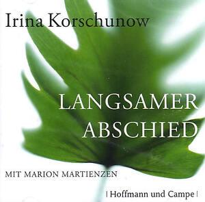 Langsamer-Abschied-Irina-Korschunow-2-Cds-NEU