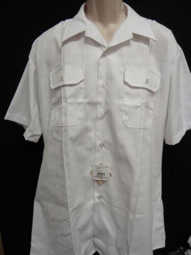 Lot of 3 Flying Cross Men/'s Short Sleeve Uniform Shirt Law Military 618R2400 XL