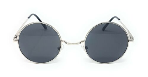 Round Lens Sunglasses Mens Womens Ladies John Lennon Fashion Circle Ozzy Hippie by Ebay Seller