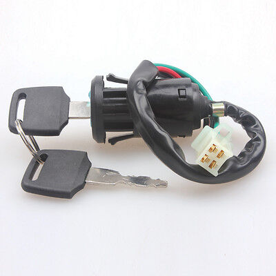 Door Lock Barrell Ignition Switch and Key Universal for Dirt Bike ATV 125cc
