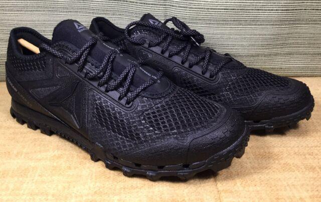 Reebok All Terrain Super 3.0 Stealth CM8920 Trail Running Black Shoes Men 8.5