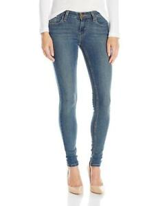 New-Levi-039-s-535-Women-039-s-Premium-Super-Skinny-Jeans-Leggings-Mid-Roast-119970260