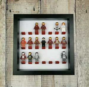 Minifigure-Display-Frame-For-LEGO-Minifigures-21-bricks-Many-colours